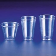 10 oz. Dart Clear Soft Plastic Cup