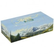 Aspen White Facial Tissue 36/144 Case