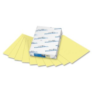 8.5×11 Canary Hammermill Copy Paper – 5000 Sheets/case