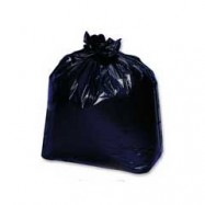 55 Gallon Heavy Duty 1.5 Mil Black Trash Liners 100/Case