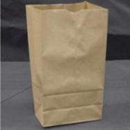 Kraft 4lb Brown Paper Bag 500/Pack