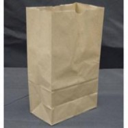 Kraft 6lb Brown Paper Bag 500/Pack
