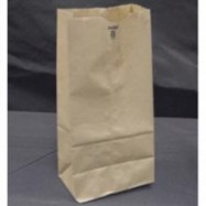 Kraft 8lb Brown Paper Bag 500/Pack