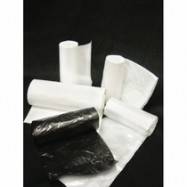 12-16 Gallon 6 Mic Clear Trash Liners 1000/Case