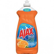 Ajax Triple Action Orange Dish Detergent 9/28oz Case