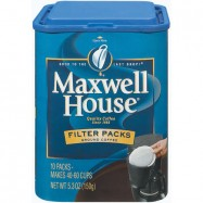 Maxwell House Filter Pack Coffee