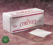 Coronet 1 Ply Lunch Napkin 12/500 Case