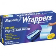 Reynolds Foil Sandwhich Wrappers 14″x10.25″ 9/50 Wrappers Case