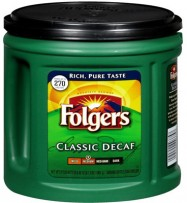 Folgers Decaf Coffee 33.9oz Can