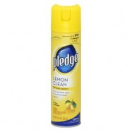 Pledge Lemon Furniture Polish 12/12.5oz Case