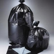 20-30 Gallon 1.3 Mil Black Trash Liners 100/Case