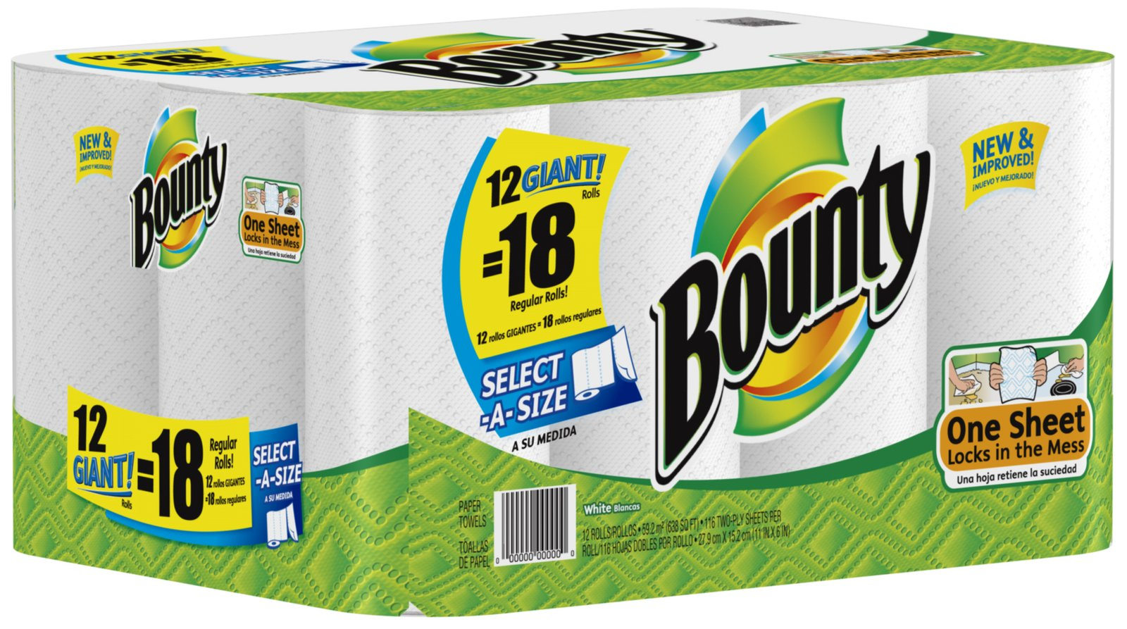 bounty paper towel add Bounty paper towels, commercial grade part# 0180595 the perfect size paper towel for nearly any job these 2 ply  add/qty price pack unit  view cart.
