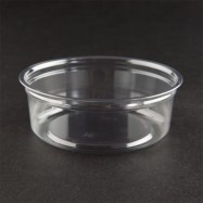 Fabri-Kal 8oz Plastic Clear Containers