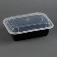 New Spring 24oz Square Container and Lid Combo