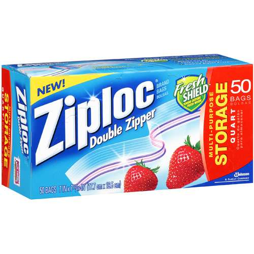 Ziploc Quart Size Storage Bag 9 50 Case
