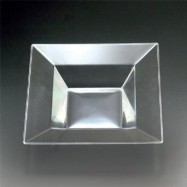 12 oz. Maryland Plastic Clear Square Bowl – 120/case