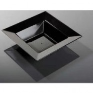 12 oz. Yoshi Black Square Bowl – 120/case
