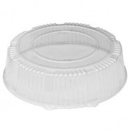 12″ WNA Clear Dome Lids 25/Case
