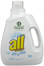All HE Free and Clear Laundry Detergent 2X Concentrate 4/100oz Case