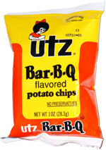 Utz BBQ Potato Chips 60/Case