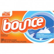 Bounce Dryer Sheets 6/160 Case