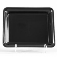 14″x10″ Black Caterline Tray 25/Case