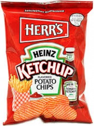 Herr's Ketchup Chips 42/Case