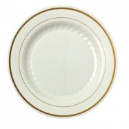 10.25″ Ivory Masterpiece Plate– 120/case