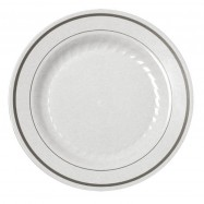 10.25″ White Masterpiece Plate– 120/case
