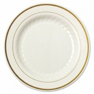 6″ Ivory Masterpiece Plate– 150/case