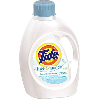 Tide Free Laundry Detergent 2X Concentrate 4/100oz Case