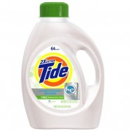 Tide HE Free Laundry Detergent 2X Concentrate 4/100oz Case