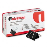 Universal Medium Binder Clips 12/Box