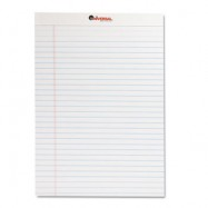 Universal Perforated 8.5″x11″ White Legal Pad 12/Pack