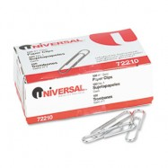 Universal Small No.1 Paper Clips 10/100 Case