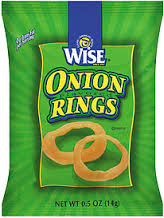 Wise Onion Rings 36/1.5oz Case