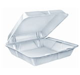 Dart 9×9 Foam Hinged Container