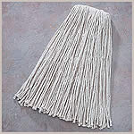 24oz White Blended Cut End Mop Head 12/Case