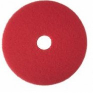 Red 13″ Buff Pad 5/Case