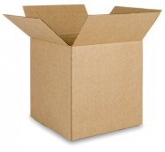 12x12x12 Corrugated Shipping Box 25/Bundle