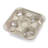 4 Cup Carry Tray 300/Case