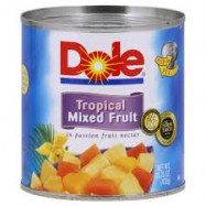 Dole Mixed Tropical Fruit 12/15.25oz Case