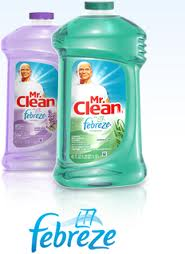 Mr Clean with Febreze 9/40oz Case