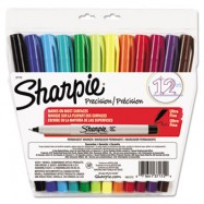 Ultra Fine Tip Assorted Sharpie 12/Pack