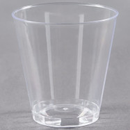 2 oz. Clear Hard Plastic Shot Cup